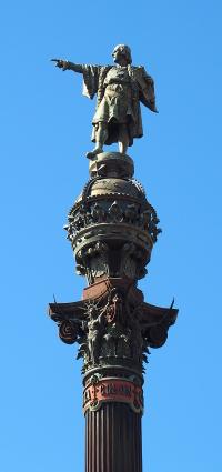 Foto: Kolumbus-Säule Barcelona